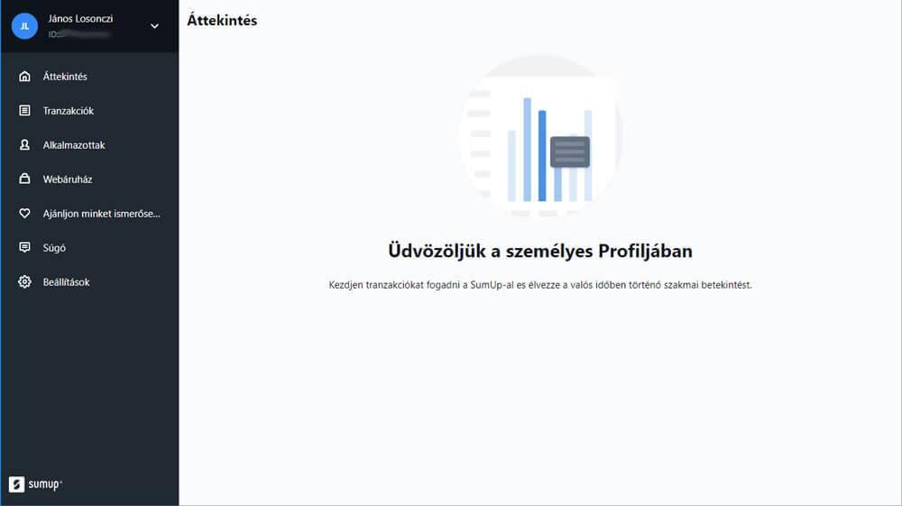 Bankkártyaelfogdás - átlátható felület